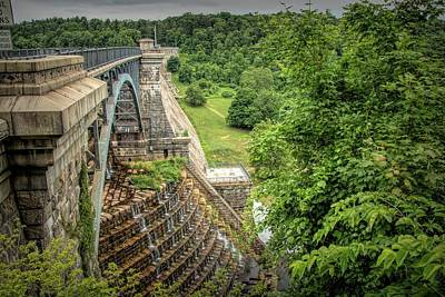 Photograph - Croton Dam New York by Kristia Adams