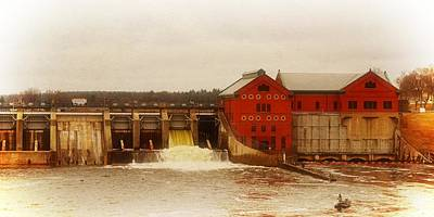Photograph - Croton Hydroelectric Plant by Michelle Calkins