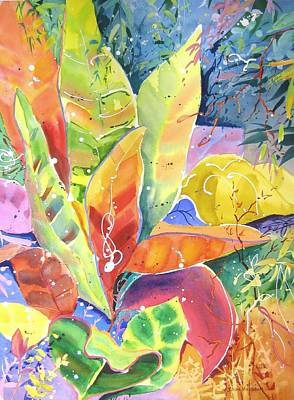Painting - Croton Ll by John Nussbaum