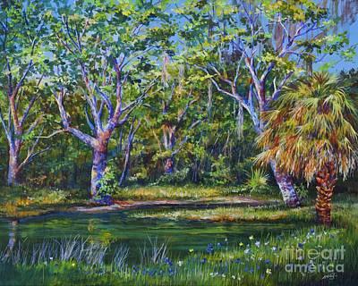 Painting - Croton Pond by AnnaJo Vahle