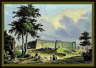 Croton Water Reservoir, 5th Av. And 42nd St., New York City, 1810 Art Print by Dwight GOSS