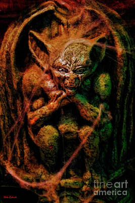 Photograph - Crouching Goblin by Blake Richards