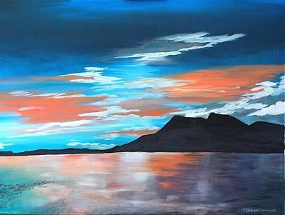 Patrick Painting - Crough Patrick by Tom Kilbane