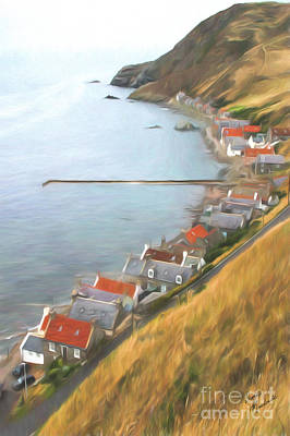 Photograph - Crovie by Diane Macdonald