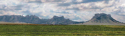 Photograph - Crow Butte Panorama by Susan Rissi Tregoning
