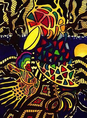Crow Art Print by Gayland Morris