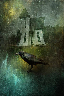 Crow House Art Print