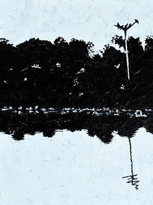 Painting - Crow Rest by Usha Shantharam