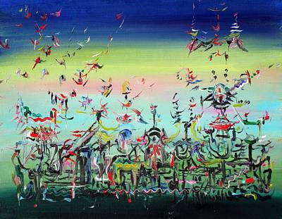 Painting - Crowded And Living by Fabrizio Cassetta