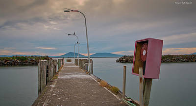 Photograph - Crowdy Head Jetty 01 by Kevin Chippindall