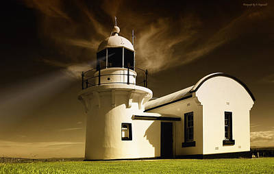 Photograph - Crowdy Head Lighthouse 00001 by Kevin Chippindall