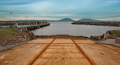 Photograph - Crowdy Head Slipway 01 by Kevin Chippindall