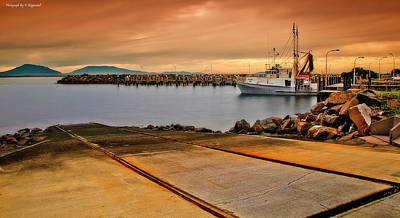 Photograph - Crowdy Head Slipway 777 by Kevin Chippindall