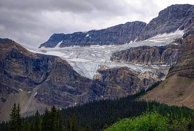 Photograph - Crowfoot Glacier by Heather Vopni