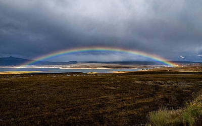 Photograph - Crowley Rainbow by Cat Connor