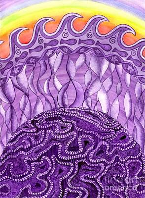 Understanding Painting - Crown Chakra by Catherine G McElroy