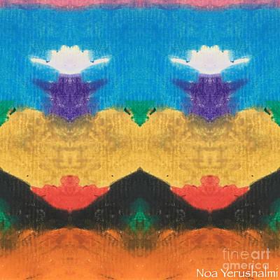 Crown Chakra Art Print