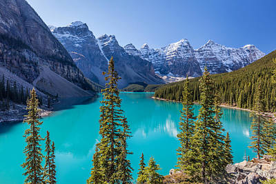 Photograph - Crown Jewel Of The Canadian Rockies by Pierre Leclerc Photography