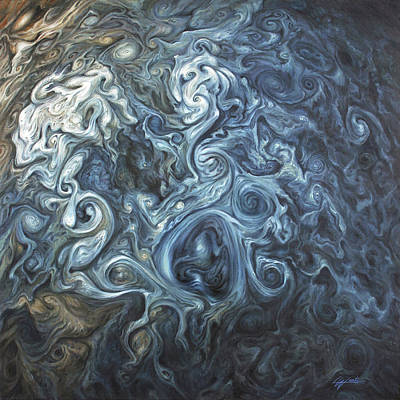 Painting - Crown Of Storms by Lucy West