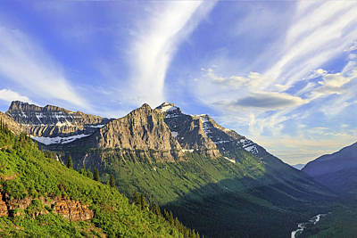 Photograph - Crown Of The Continent by Jack Bell