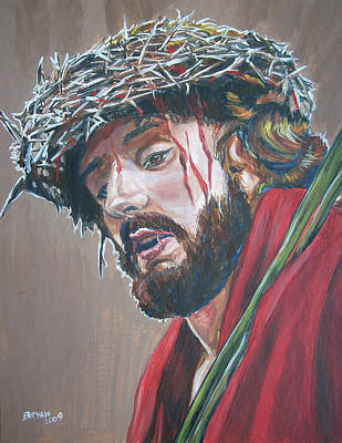 Painting - Crown Of Thorns by Bryan Bustard