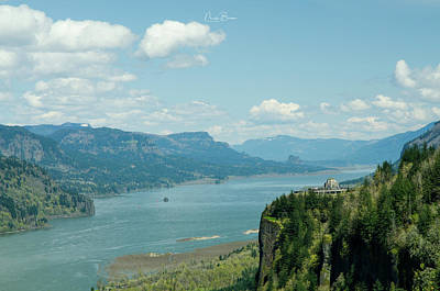 Photograph - Crown Point Landscape by Nick Boren