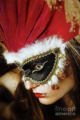 Photograph - Crown Princess II Face Eye Mask by Dimitar Hristov