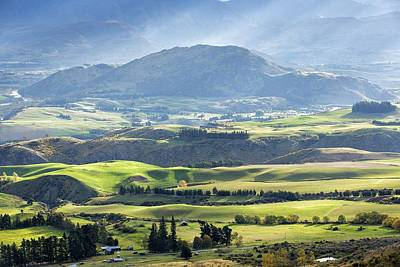 New Zealand Photograph - Crown Ranges  - New Zealand by Russ Dixon