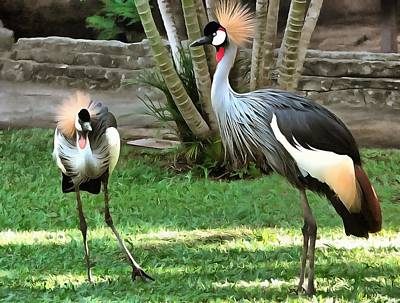 Crowned Crane Original