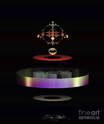 Digital Art - Crowned Jewels by Melissa Messick