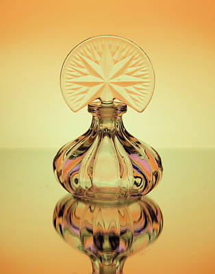 Photograph - Crowned Perfume Bottle by Betty Denise