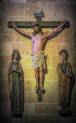 Photograph - Crucified Christ by David Cote