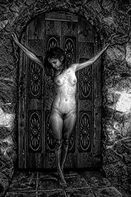 Photograph - Crucified by Hugh Smith