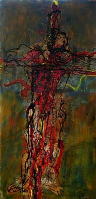 Crucified Art Print by Paul Freidin