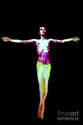 Painting - Crucified Religion by Tbone Oliver