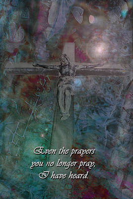 Photograph - Crucifix 2 by Kate Word