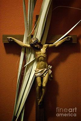 Frank J Casella Royalty-Free and Rights-Managed Images - Crucifix by Frank J Casella