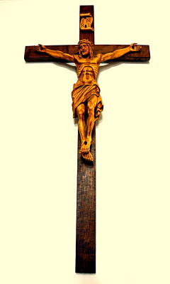 Photograph - Crucifix by Henryk Gorecki