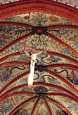 Monasticism Photograph - Crucifix In The Carmelite Convent Church In Mainz   by Sarah Loft