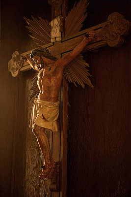 Photograph - Crucifix by Johnny Sandaire