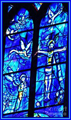 Photograph - Crucifixion By Chagall    by Sarah Loft