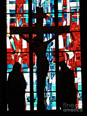Photograph - Crucifixion In Silhouette by Sarah Loft