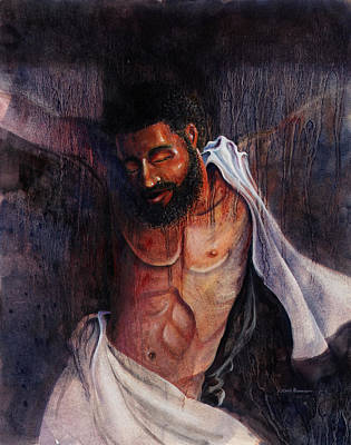 Painting - Crucifixion by Lewis Bowman