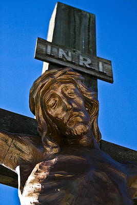 Photograph - Crucifixion by Nora Blansett