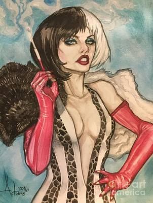 Cruella Devil Print by Jimmy Adams