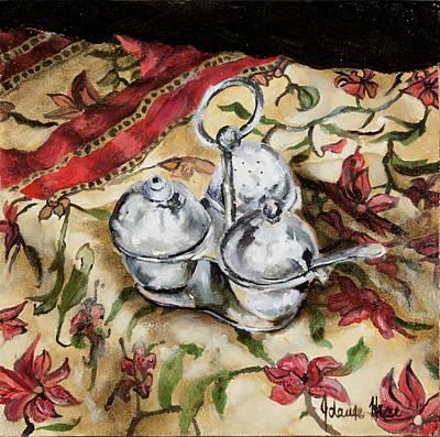 Cruet Art Print by Jolante Hesse