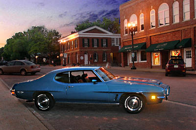 Photograph - Cruise Night In Liberty by Steve Karol