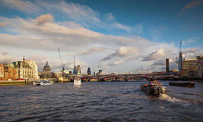 Londoners Photograph - Cruise On The Thames by Maggie McCall