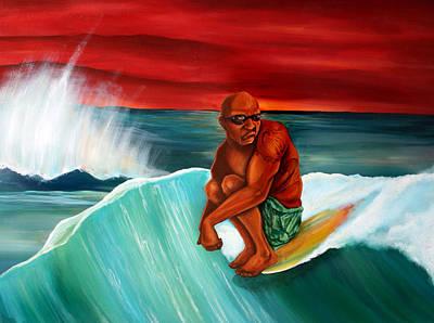 Cruise Art Print by Robert  Nelson