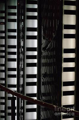 Photograph - Cruise Ship Abstract Keyboards by Rick Bures